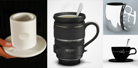 24 modern mugs and creative mug designs from a Creative mug designs